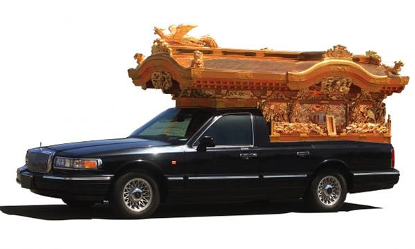 国産宮型霊柩車